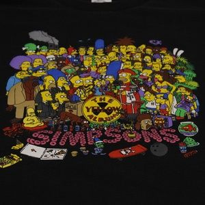 90's The Simpsons The Yellow Album T-Shirt